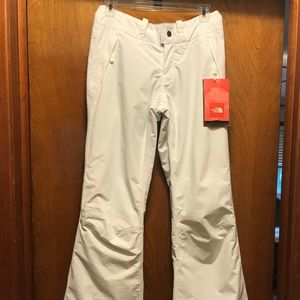 The North Face White Ski Pant